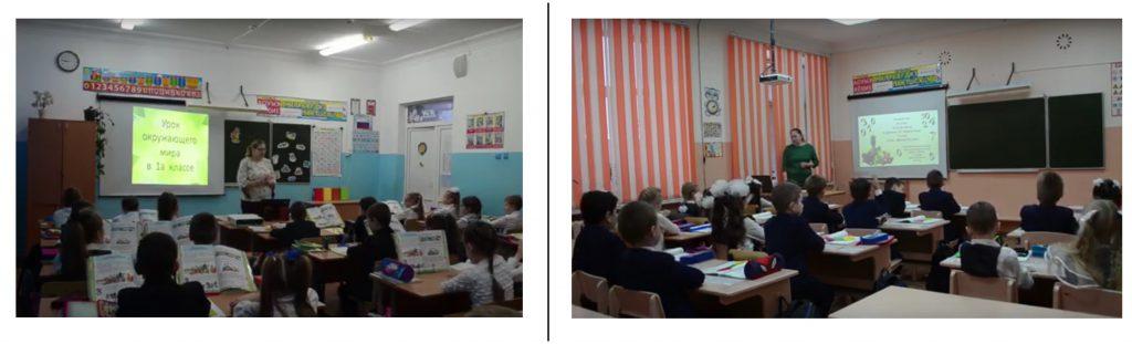 Использование ИКТ на уроках в начальных классах как средство активизации учебной деятельности младших школьников